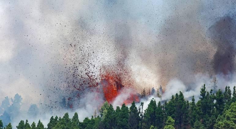 tsunami na PB vulcão cumbre vieja